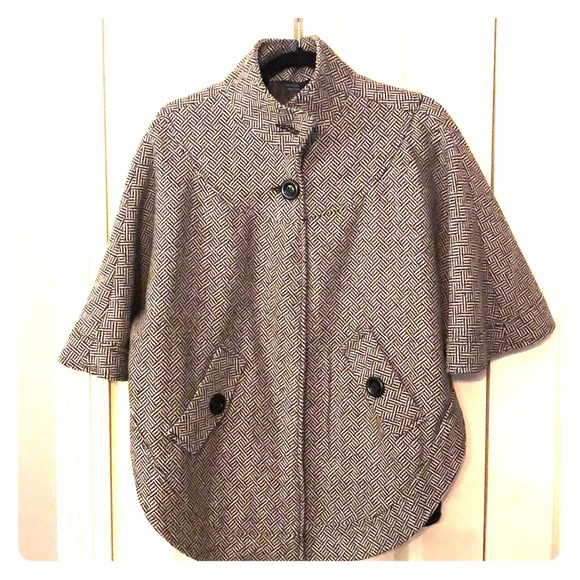 East 5th Jackets & Blazers - east5th, patterned poncho coat.